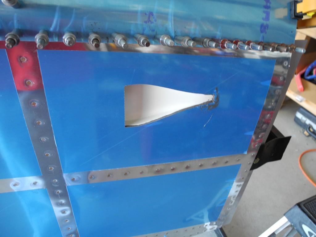 Air vent on RV-9A