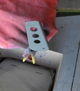 RV-9 elevator horn repair finished