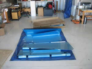 Empennage Kit for RV9A